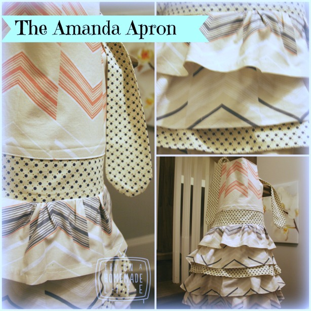 A frilly fancy apron that's quick and easy. Read the tutorial to see how to make it.